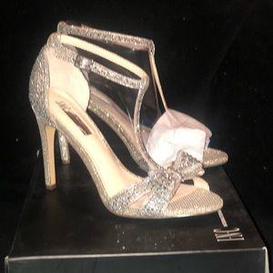 Rhinestone high heels Sz 7.5-NEW